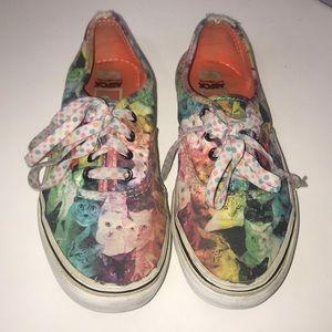 Vans kitty ASPCA rain boo s sneakers used girl 2.5